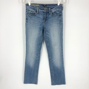 J.Crew Matchstick Cropped Jeans Size 26